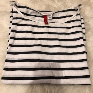 Classic Striped 3/4 Sleeve Shirt
